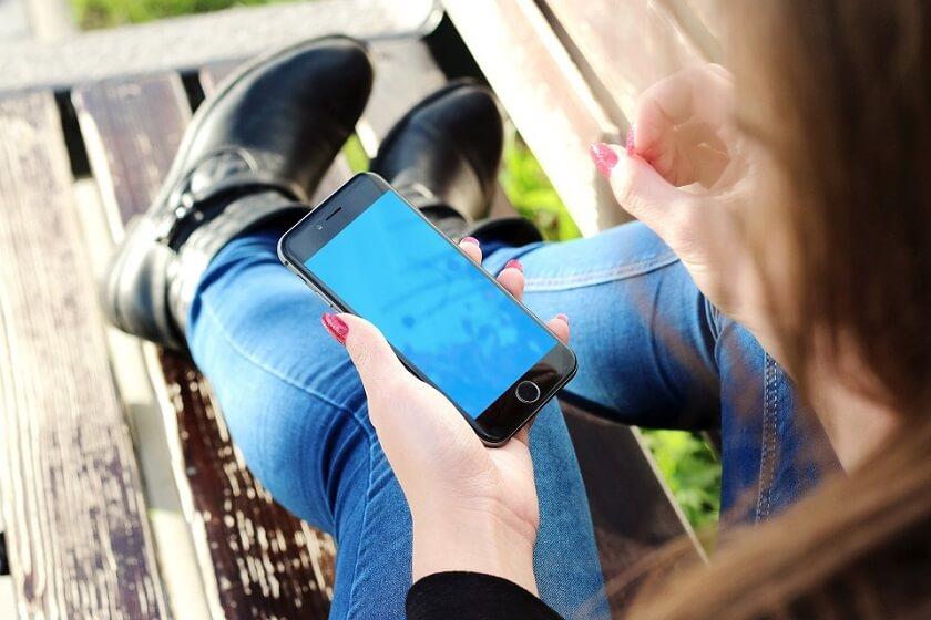 Onlinekredit i mobilen