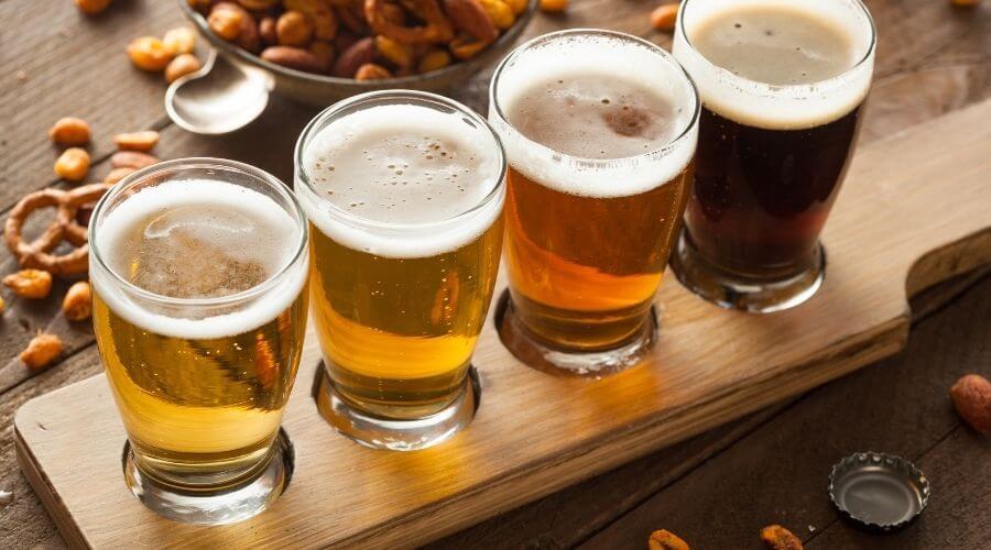 Prova olika sorters öl